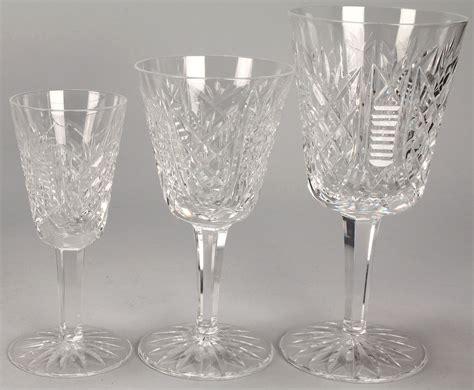 Vintage Waterford Crystal Vases Crystal Stemware Patterns Identification Quotes