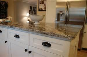 Best Kitchen Wall Colors With Oak Cabinets - best countertops for white cabinets 580x385 granite