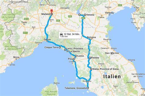 Mit Dem Auto Nach Italien Tipps by Roadtrip Italien Routen Tipps 10 Reisebloggern