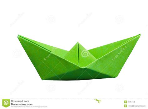 green boat clipart green paper boat royalty free stock images image 24754779