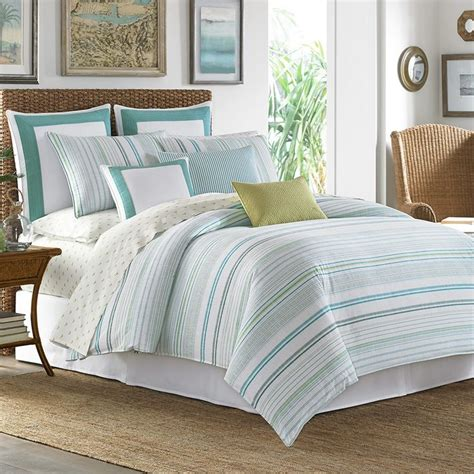 tommy bahama bedding king tommy bahama la scala breezer seaglass comforter and duvet