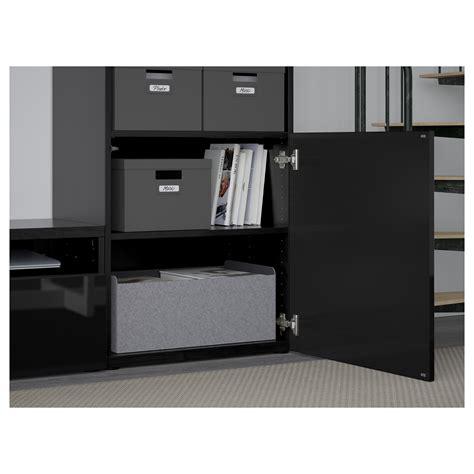 ikea besta tv storage combination best 197 tv storage combination glass doors black brown