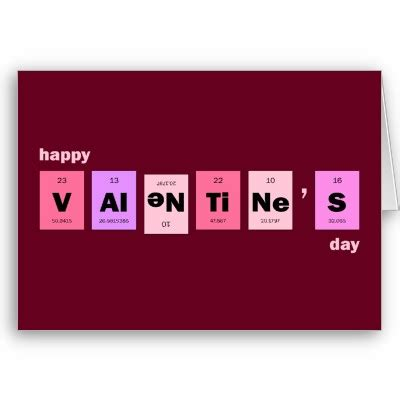 nerdy valentines day cards science happy s day greeting cards