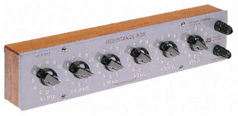 decade resistance box range rm6 cropico rm6 decade box decade box type resistance resistance resolution 10ω best