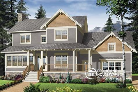 new craftsman home design drummond house plans