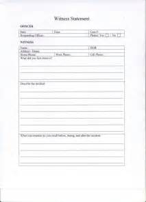 witness statement template witness statement copy slcctech2100 s