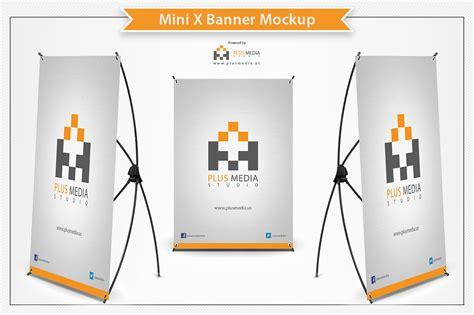 Mockup Design Banner | mini x banner mockup product mockups on creative market