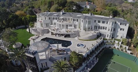 Inside Edition inside the 46 million los angeles mansion that just sold