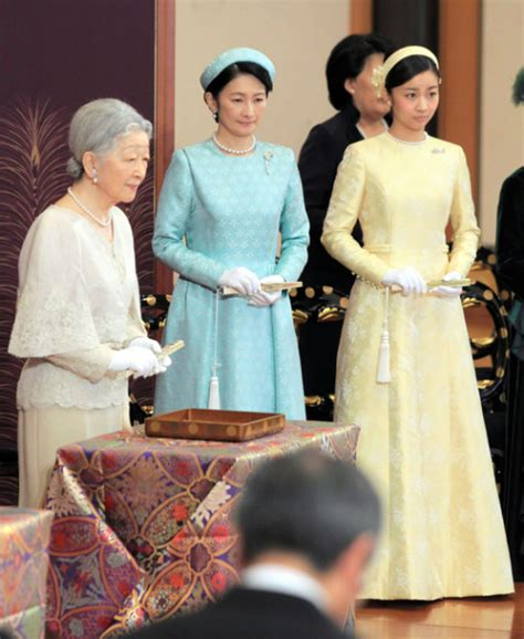 japan princess kako of akishino japan s royal family attends new year s poetry reading