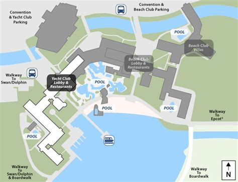 Disneys Yacht Club Hotel Floor Plan - disney club floor plans