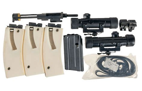 ar 15 fully automatic 22 caliber conversion colt model ar 15a2 h bar semi automatic rifle with scope