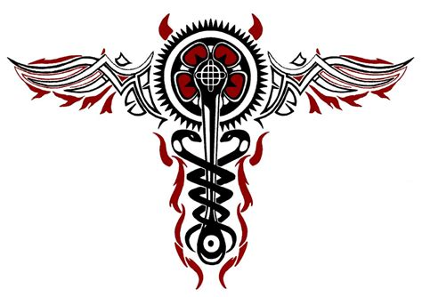 infamous tattoos infamous 2 cole macgrath evil caduceus by