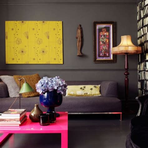 bold colour living rooms
