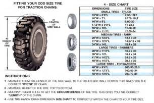 How Do Truck Tire Sizes Work 10 0 20 5 16 Quot Cross Side Chains With 3 8 Quot Hooks 3145