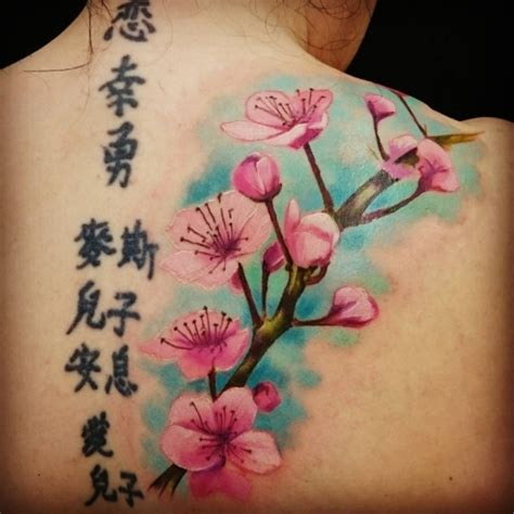 cherry blossom back tattoo best cherry blossom ideas on the back