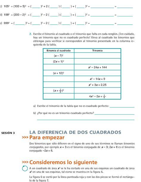 libro de matematicas de 1 grado de secundaria 2016 contestado libro de matematicas de tercero de secundaria pdf