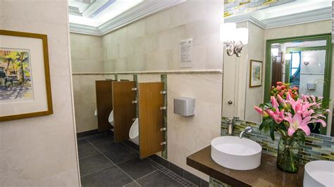 public bathrooms in nyc nyc luxury bathroom gets an upgrade video business news
