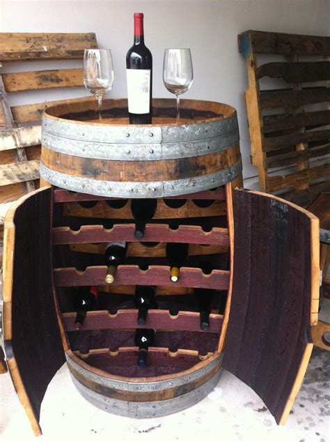 wine barrel storage barrel wine rack this is clever all you need is a winery