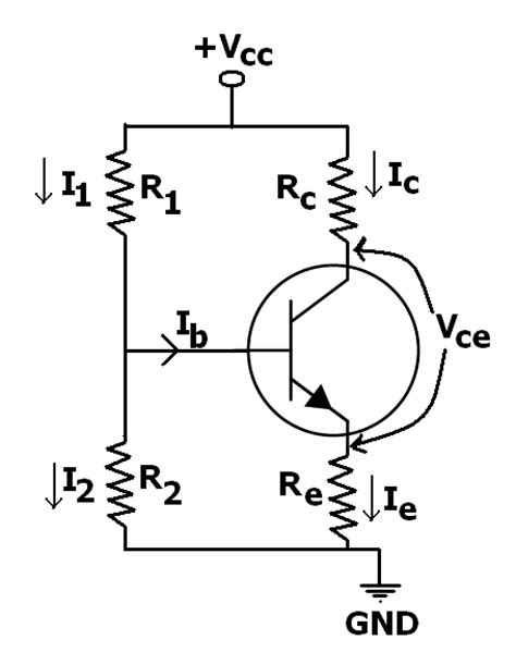 transistor voltage divider learning about a one transistor gain stage