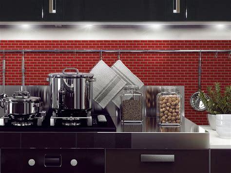 Metal Tiles For Kitchen Backsplash la cr 233 dence adh 233 sive copier coller inspiration cuisine