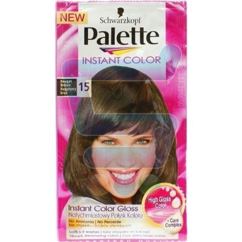 palette instant color palette instant color farba do włos 243 w nr 15 nugatowy brąz