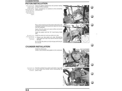 old car repair manuals 2011 honda fit engine control service manual 2004 2013 honda crf250x frank mxparts