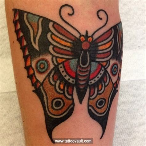 tattoo butterfly vintage colorful vintage butterfly on the hand for more tattoo