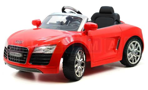Audi R8 Spyder Electric Car by Ride On Electric Car Audi R8 Spyder Czerwony Ride On