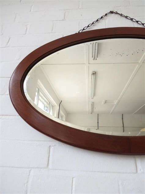 art deco fan wall mirror vintage large oval art deco bevelled edge wall mirror with