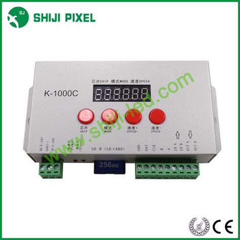 Controller Pixel Rgb Programmable Led With Sd Card And Software sd card programmable led controller k 1000c for led led pixel light buy led controller