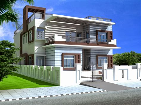 duplex houses foundation dezin decor duplex homes 3ds max work