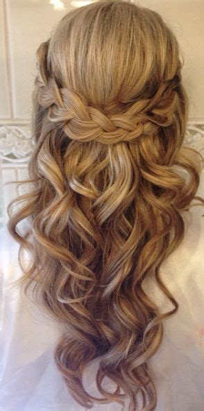 Wedding Hairstyles Hair Part Up Part by Top 25 Best Wedding Hairstyles Ideas On