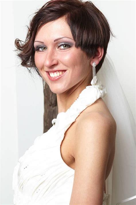 Kurze Haare Hochzeitsfrisur by Brautfrisuren F 252 R Kurze Haare Tipps Beispiele