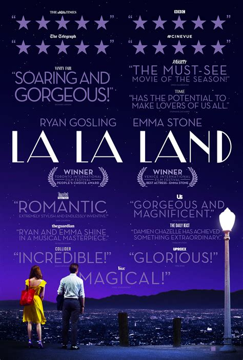 film quotes poster official trailer and new poster for la la land blackfilm