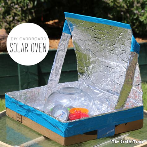 solar ovens diy diy solar oven from a repurposed cardboard box the craft