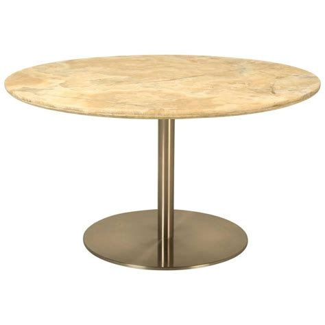 Onyx Dining Table Dining Table In Onyx And Stainless Steel For