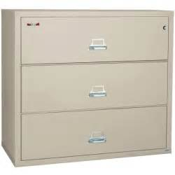 Lateral File Cabinet Used Fireking 3 3122 C 31 Quot Wide Lateral File Cabinet With 3 Drawer