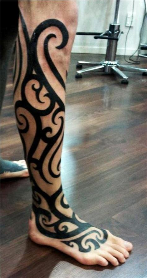 tribal tattoos leg tribal tattoos designs pictures page 18
