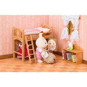 Calico Critters Bunk Beds Calico Critters Sisters Loft Bed Toysrus