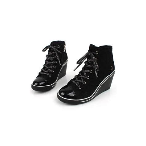 zipper sneakers womens womens cap toe lace up wedge sneakers high top zipper