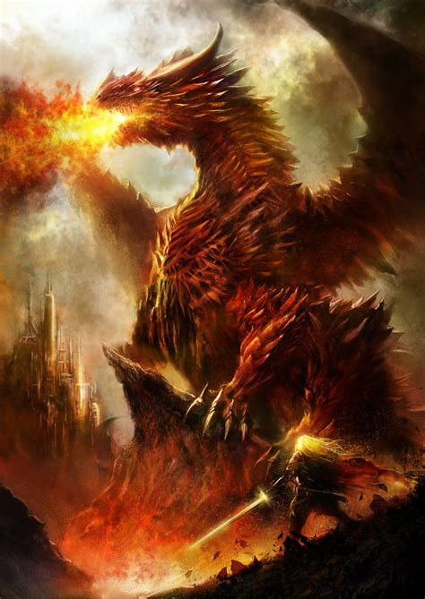 drachen matte 26 advanced digital painting tutorials to greatly elevate