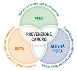alimentazione prevenzione tumori il sovrappeso e l obesit 224 come fattori di rischio