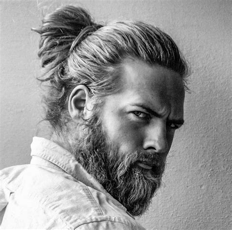 mens hair styles old fashion with pony tail man buns and braids solidsender lasse l matberg x