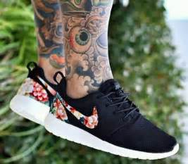nike roshe customized floral running shoes sexiest item of