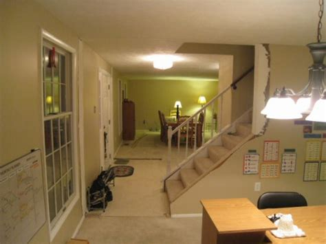 how to fix rooms in families 2 how to remove stud walls to create an open floor plan one project closer