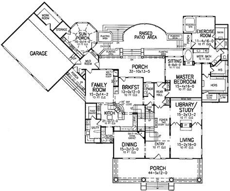 craftsman house floor plans impressive 2 craftsman house plan 5496lk