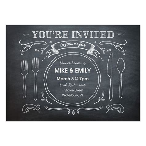 birthday dinner invitation templates best 25 dinner invitations ideas on
