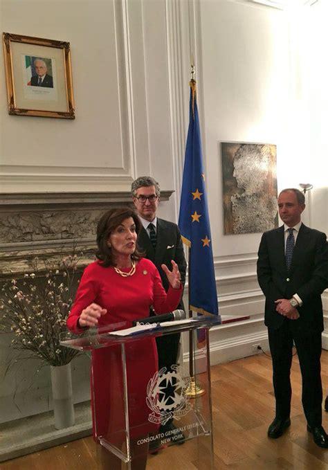 consolato generale d italia new york la visita dell ambasciatore armando varricchio a new york