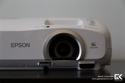 test du projecteur epson powerlite home cinema 2030