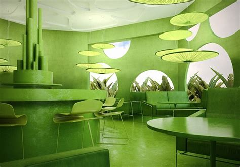 Nature Concept In Interior Design by Green Cafe Concept On Behance